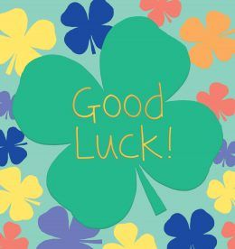Good Luck Clover Leaf