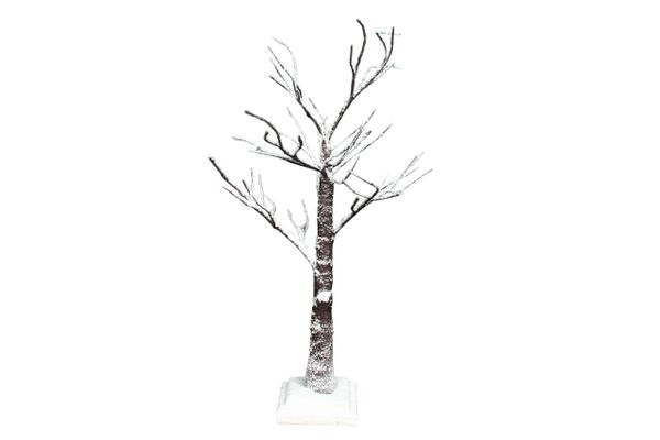 Snow Covered Spiky Twig Tree 70cm