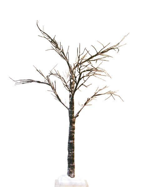 Snow Covered Spiky Twig Tree 125cm