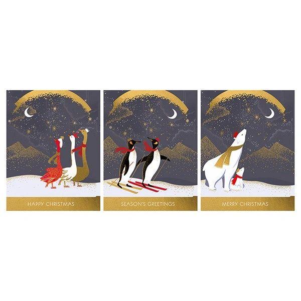 SaraMiller Trio Card Collection