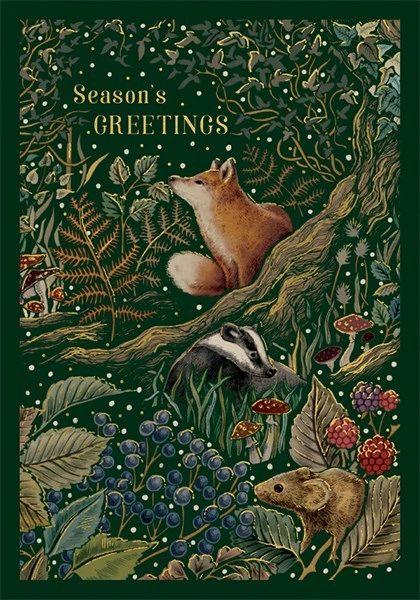 Seasons Greetings Woodland