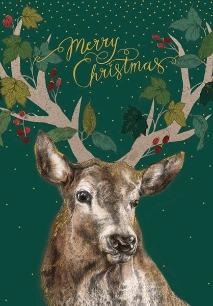 Merry Christmas Stag