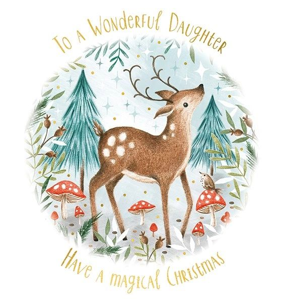Wonderful Daughter Card AFRX177