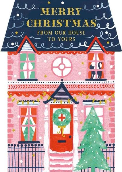 From our house to yours card afrx130