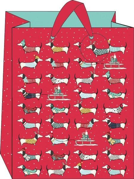 Frank Sausage Dog Gift Bag - Large
