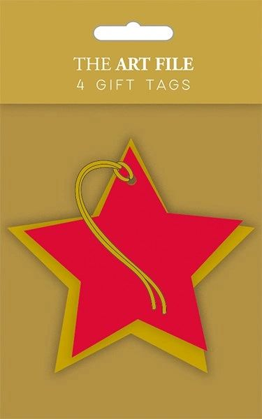 Star gift Tags - set of 4