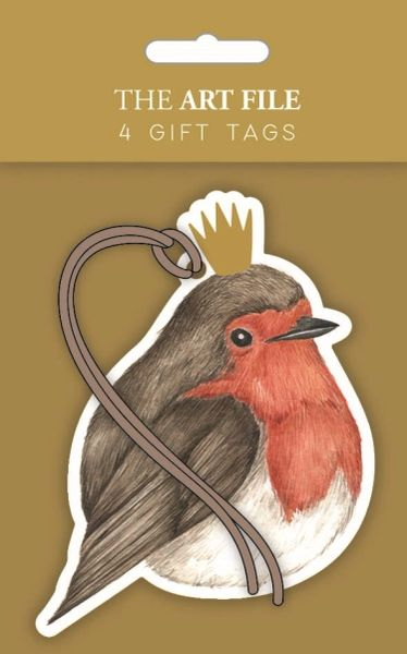 Robin Gift Tags - set of 4