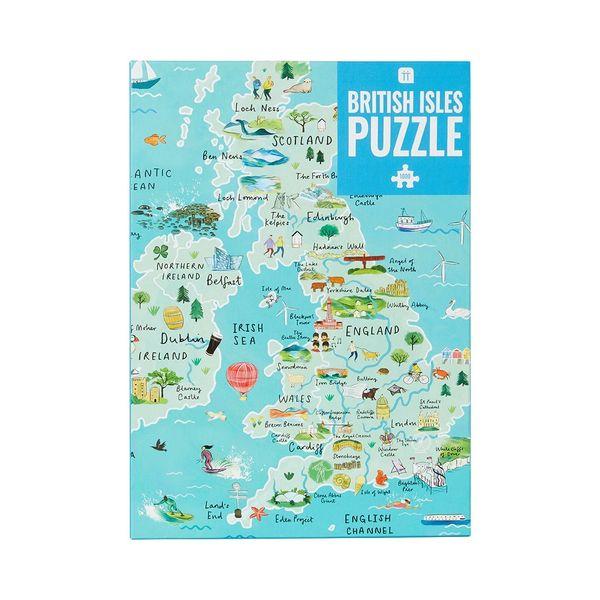 British Isles UK Puzzle 1000 Pieces