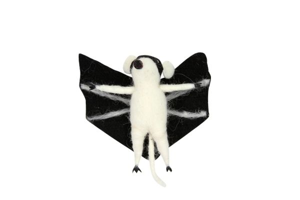 Wool Mix Mouse Bat Dec