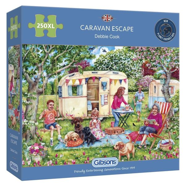 CARAVAN ESCAPE 250 EXTRA LARGE PIECE JIGSAW PUZZLE