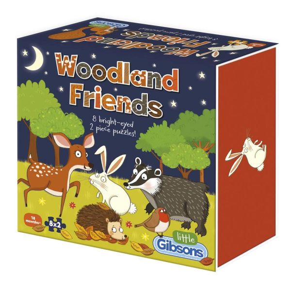 WOODLAND FRIENDS CHILDREN'S PUZZLES