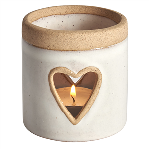 Padua heart tealight holder