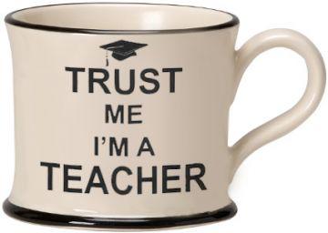 Trust Me I'm a Teacher Moorland Mug