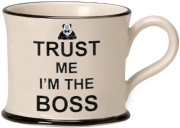 Trust Me I'm the Boss Moorland Mug