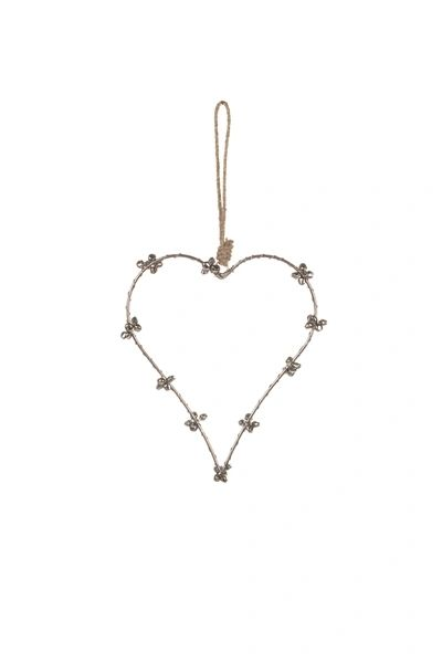 Heart with Bells 17cm