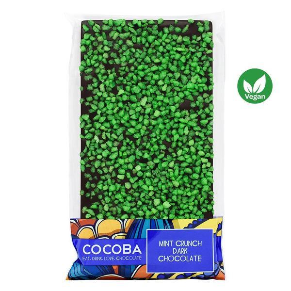 MINT CRUNCH DARK CHOCOLATE BAR