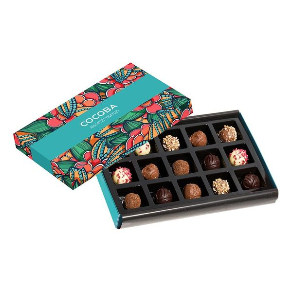 15 ASSORTED CHOCOLATE TRUFFLES GIFT BOX