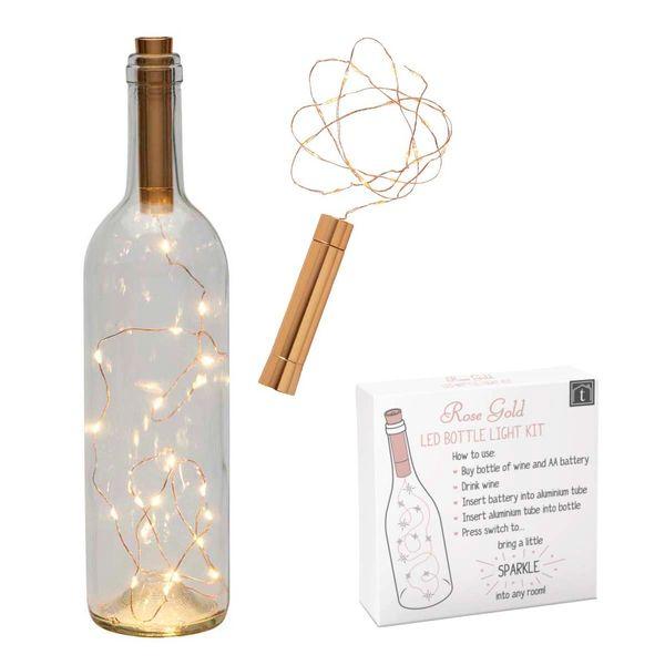 Light Bottle Kit Rose Gold