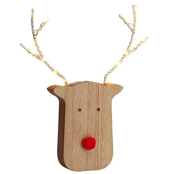 Small LED Reindeer with light up antlers