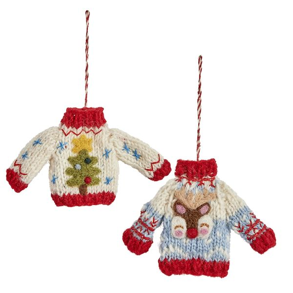 Handmade Christmas Jumper Decoration