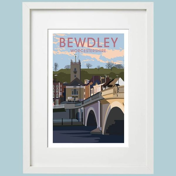 BEWDLEY framed art print