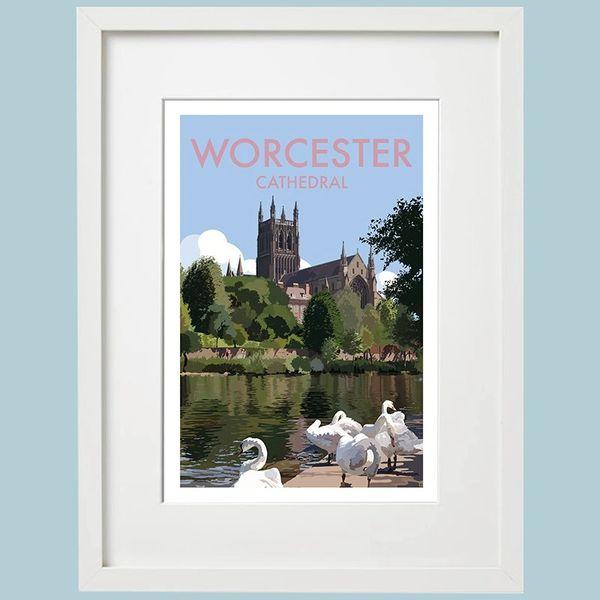 Worcester Framed Print