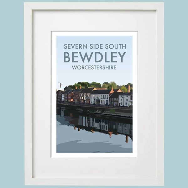 Severn Side South Bewdley Framed Print