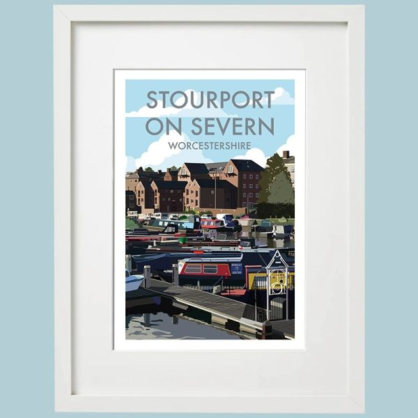 Stourport on Severn Framed Print