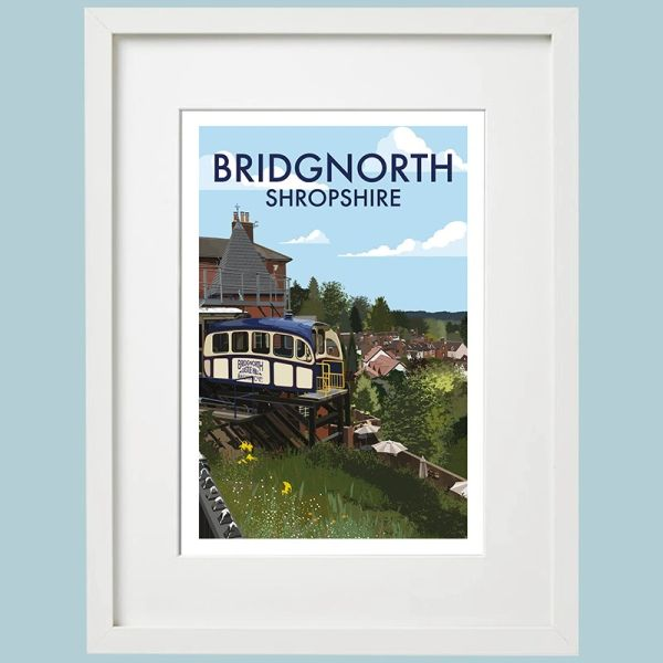 Bridgnorth Framed Print