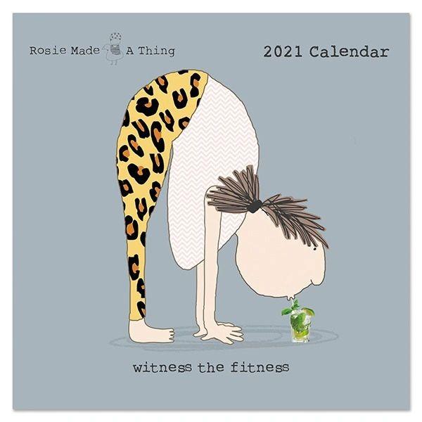 Rosie Made a Thing 2021 Calendar