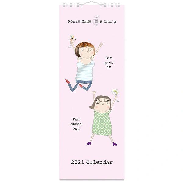 Rosie Made a Thing Slim Calendar