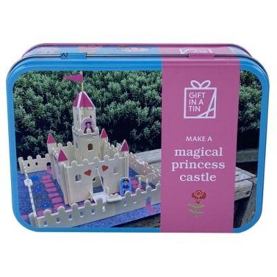 Magical Princess Castle in a tin