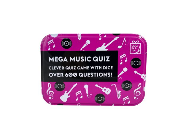 Quiz in a Tin - Mega Music Quiz