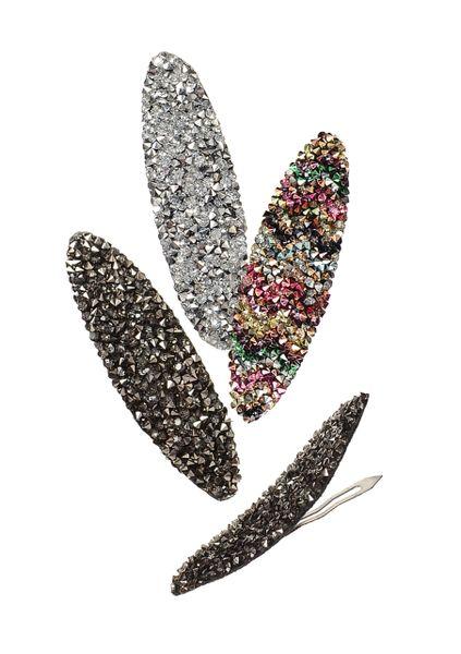 Spangle Clip - Oval - Choose colour