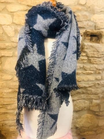 Wooly Star Scarf - choose colour