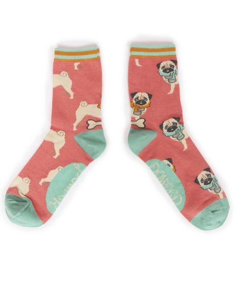 Cosy Pug Ankle Sock