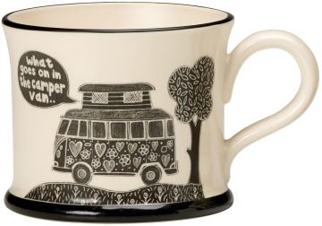 What goes on in the Camper Moorland Pottery Mug