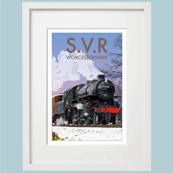SVR - Severn Valley Railway Framed Print - choose