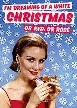 I'm Dreaming of a White Christmas Funny Christmas Card dmx215