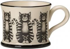 Cat Mug by Moorland Pottery