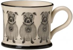 Pug Mug by Moorland Pottery