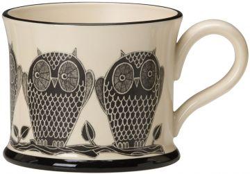 Owl Mug by Moorland Pottery
