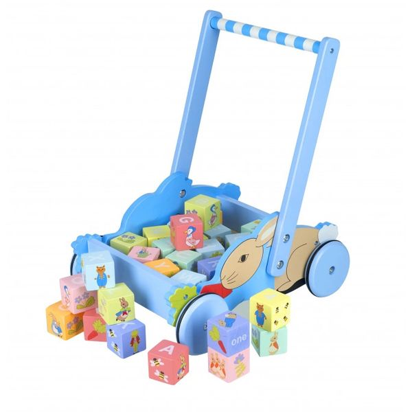 Peter Rabbit™ Alphabet Block Trolley - Click & Collect Only