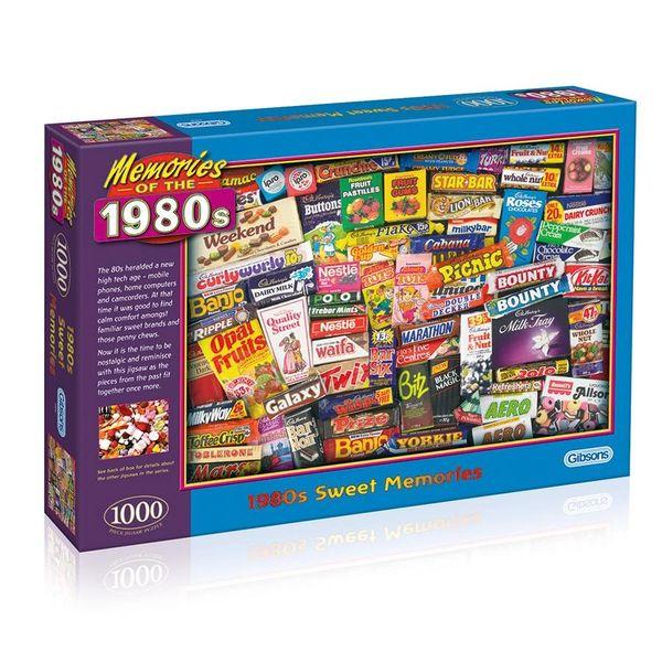 1980s Sweet Memories 1000 Pce Jigsaw