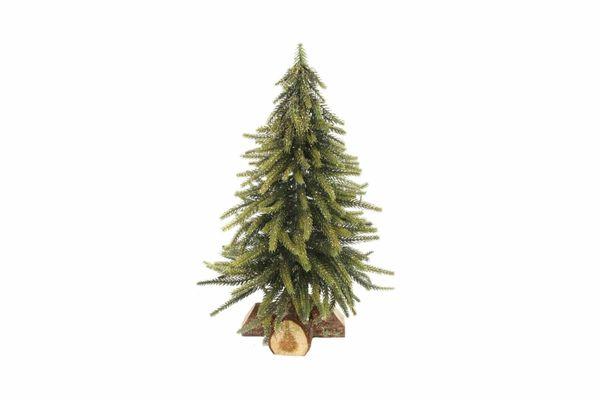 Faux Gold Christmas Tree 33cm