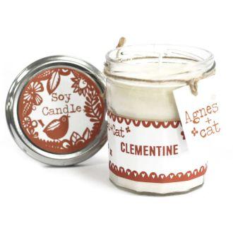 CLEMENTINE - JamJar Candle