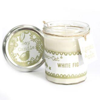 WHITE FIG - JamJar Candle