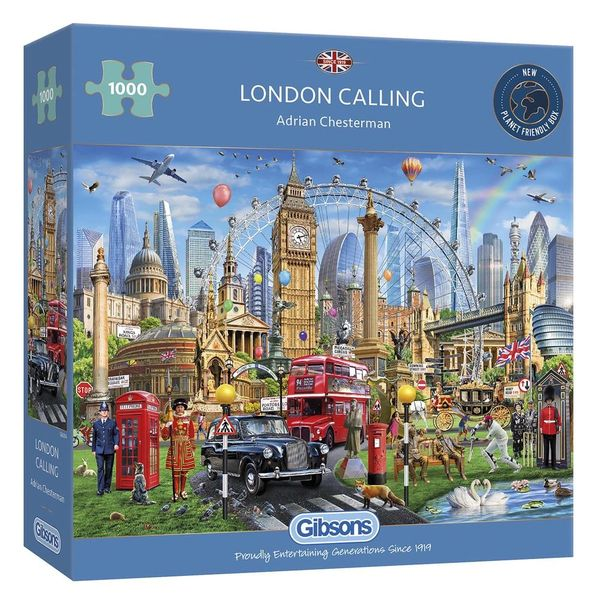 London Calling 1000 pc