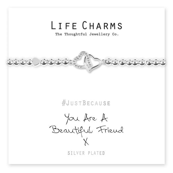 You Are A Beautiful Friend Life Charm