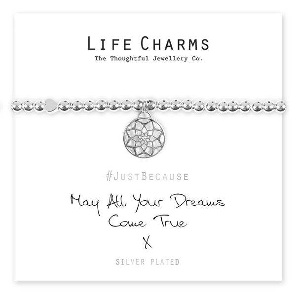 May All Your Dreams Come True Bracelet Life Charm